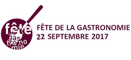 Fête de la gastronomie, le 22 septembre 2017
