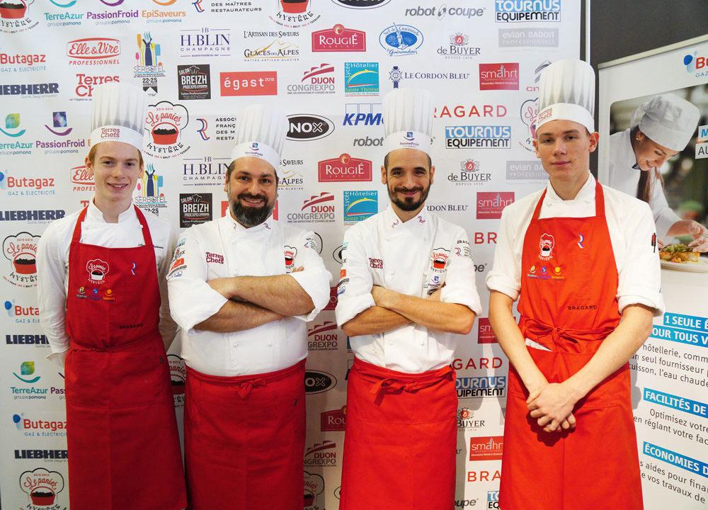 3e édition Concours National des Maîtres Restaurateurs Panier Mystère Terres de Chefs sélection Serbotel Nantes