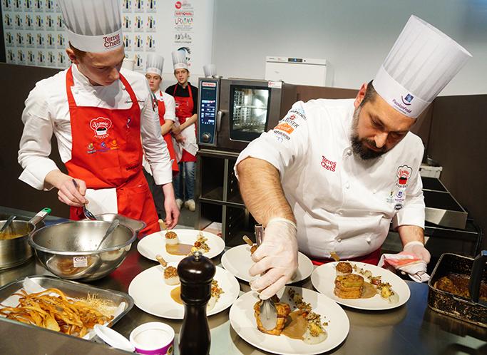 Concours Culinaire Panier Mystère - Serbotel Nantes - Maître Restaurateur