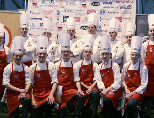 Sélection Rennes - Salon ÉGAST - Chefs + commis