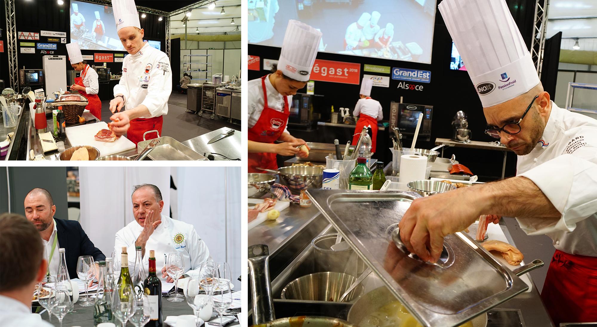 Concours Culinaire Panier Mystère – Salon Strasbourg ÉGAST – Maître Restaurateur