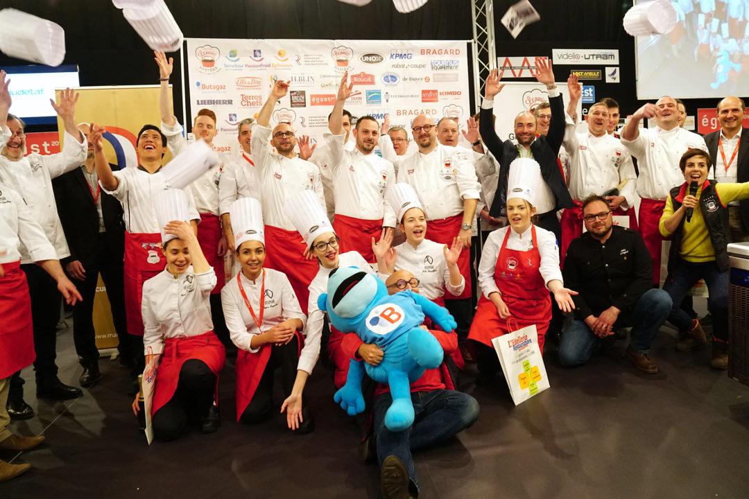 Concours culinaire Panier Mystère 2017/2018 - Maîtres Restaurateurs - Salon Égast - Strasbourg
