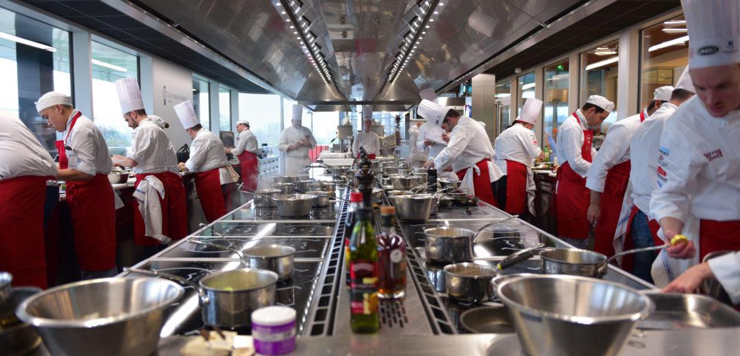 Concours culinaire Panier Mystère 2017/2018 - Maîtres Restaurateurs - Finale -Institut Le Cordon Bleu Paris
